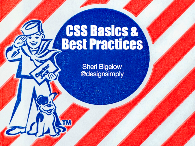 CSS Basics and Best Practices